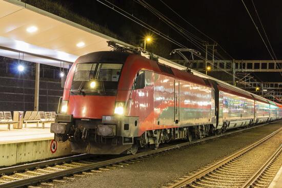 Anreise per Bahn - Hotel-Garni Binggl in Obertauern