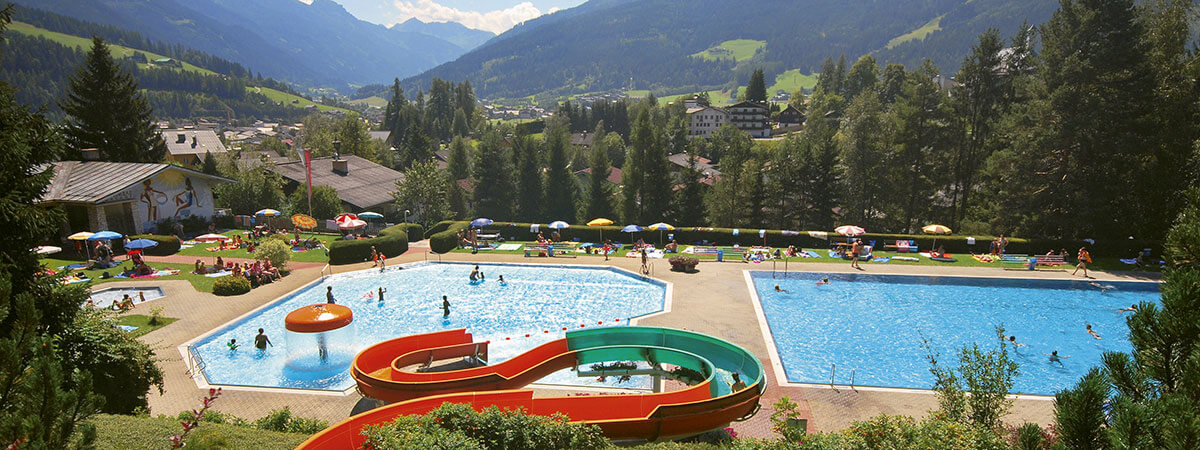 Ausflugsziele - Alpenschwimmbad Radstadt