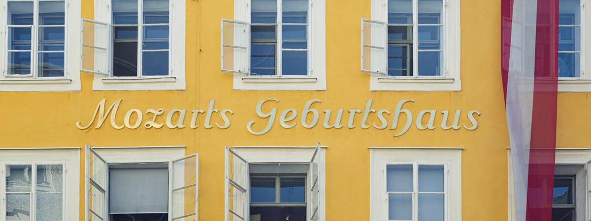 Mozart Geburtshaus - Ausflugsziele Stadt Salzburg
