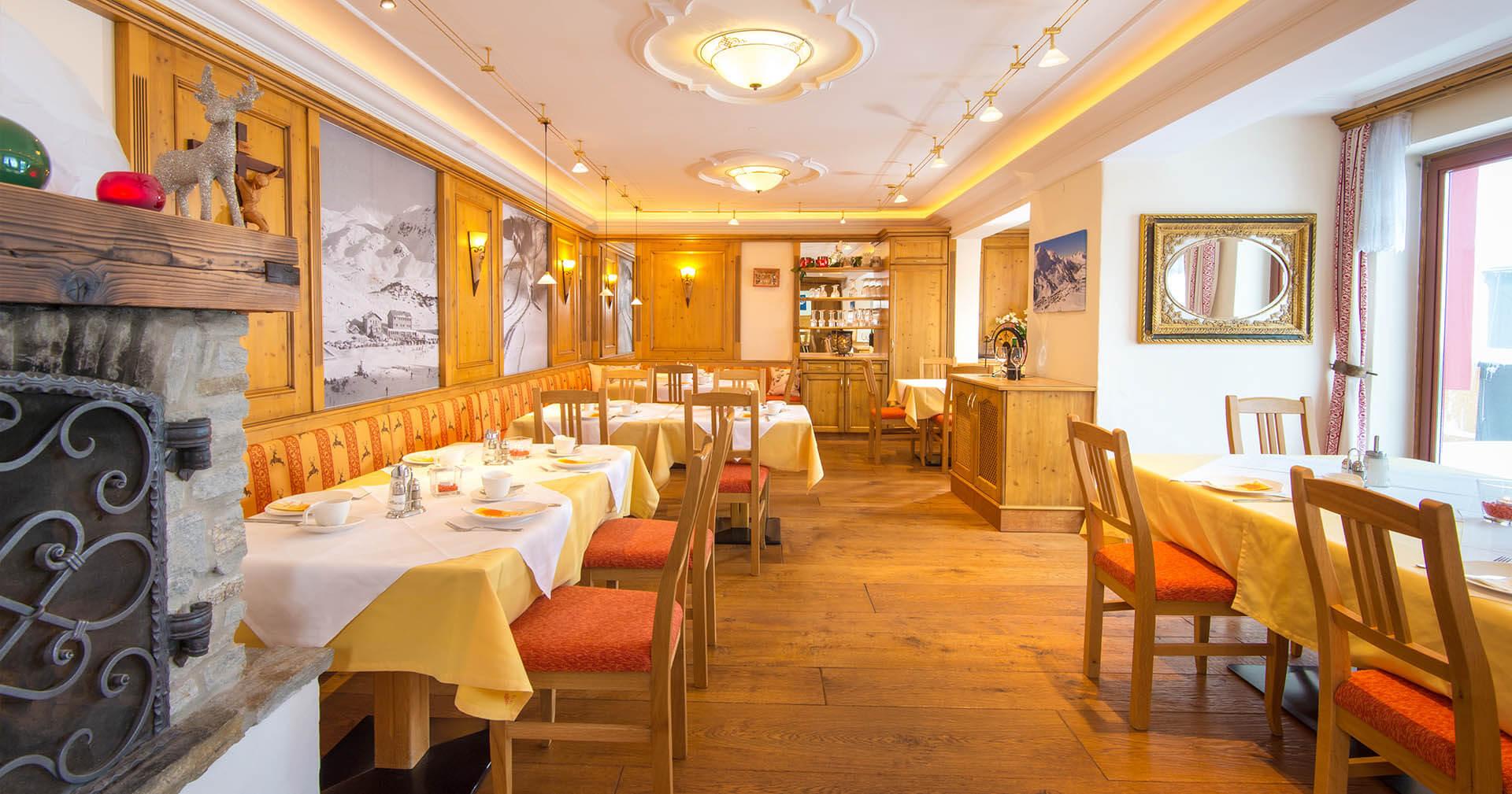 Hotel neben der Piste in Obertauern - Kulinarik - Hotel Binggl