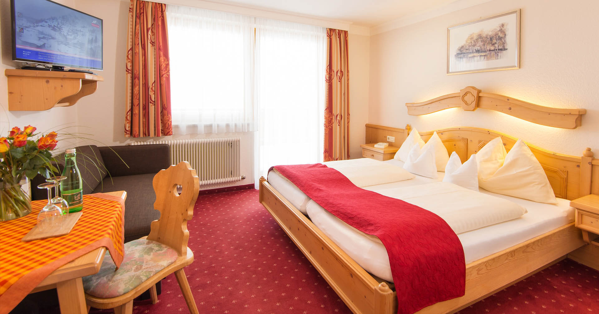Hotel neben der Piste in Obertauern - Hotelzimmer - Hotel Binggl