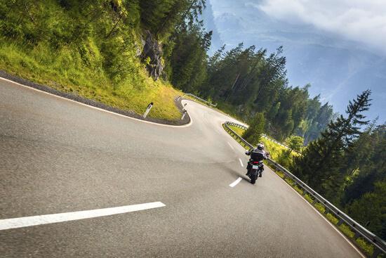 Motorrad fahren in Obertauern, Salzburger Land