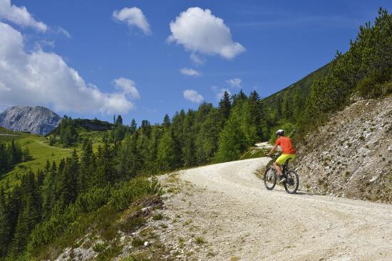 Radfahren, Biken in Obertauern, Salzburger Land